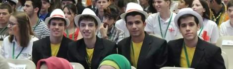 Notícias sobre nossa Seleção Brasileira de Biologia na IBO 2014!