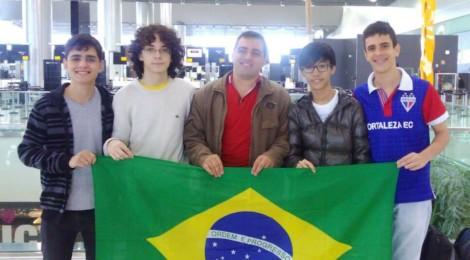 Quatro Medalhas para o Brasil na Cone Sul de Matemática!