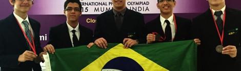 Três Medalhas para o Brasil na Olimpíada Internacional de Física (IPhO)