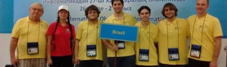 Duas medalhas para o Brasil na Olimpíada Internacional de Informática (IOI)