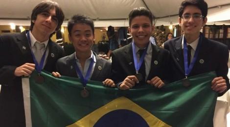 Brasil conquista medalhas de prata e bronze na Olimpíada Iberoamericana de Biologia (OIAB)