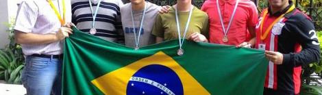 Quatro Medalhas para o Brasil na Olimpíada Matemática do Cone-Sul
