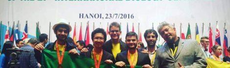 Brasil ganha três medalhas na Olimpíada Internacional de Biologia