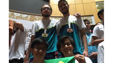 Brasil ganha ouro e bronze na Olimpíada Internacional de Informática